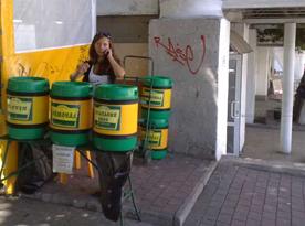 Неизвестные напитки продают прямо в центре Севастополя (ФОТО)