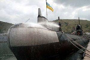 """подводница """"Запорожие"""""""