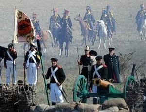 «Альминское дело - 2013»: состоялась реконструкция первого сражения Крымской войны