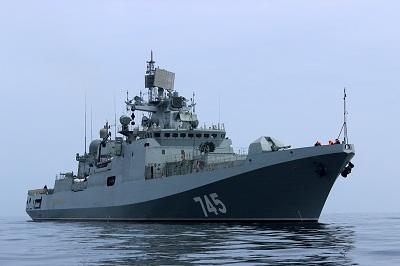 «Адмирал Григорович» вернулся изТартуса вНовороссийск