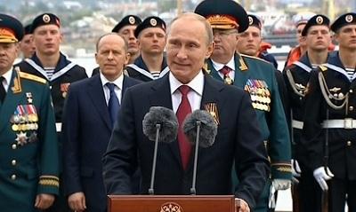 ПрезидентРФ Владимир Путин приедет вКрым на будущих выходных