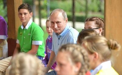 Владимир Путин прибыл на Крымский полуостров