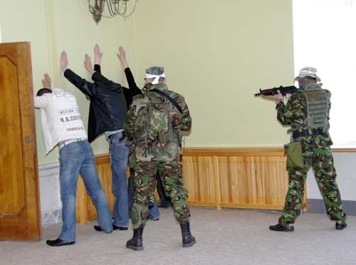 В Алтайском крае проводится антитеррористическое учение