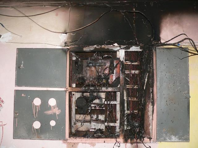 Обнинцы жгут щитки для развлечения Давненько в Обнинске не встречалось поджогов электрощитков в подъездах...