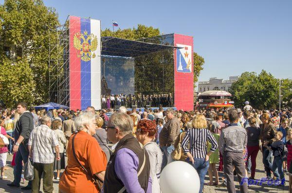 День Гимна в Севастополе
