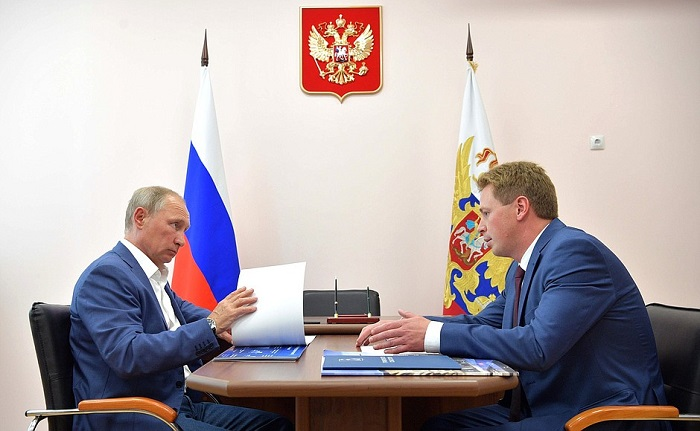 Путин иМедведев посетили открытие фестиваля «Опера вХерсонесе»