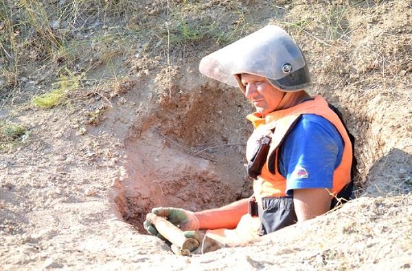 Наместе будущего парка «Патриот» вСевастополе найдены десятки боеприпасов