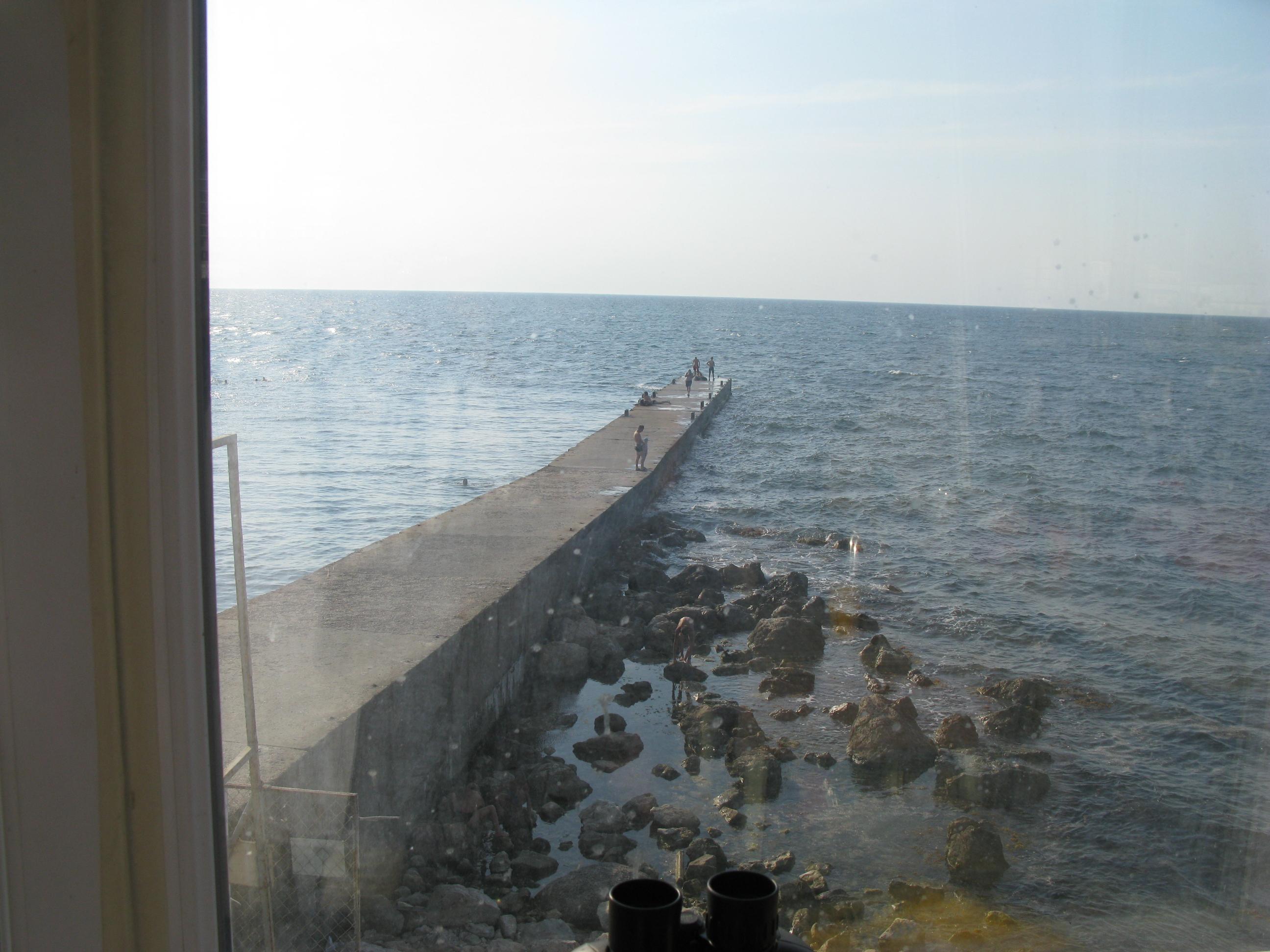 В Крыму чуть не утонул пьяный мужчина, выкрикивавший бандеровское приветствие