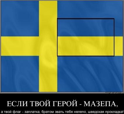 Сине красный флаг появился в россии