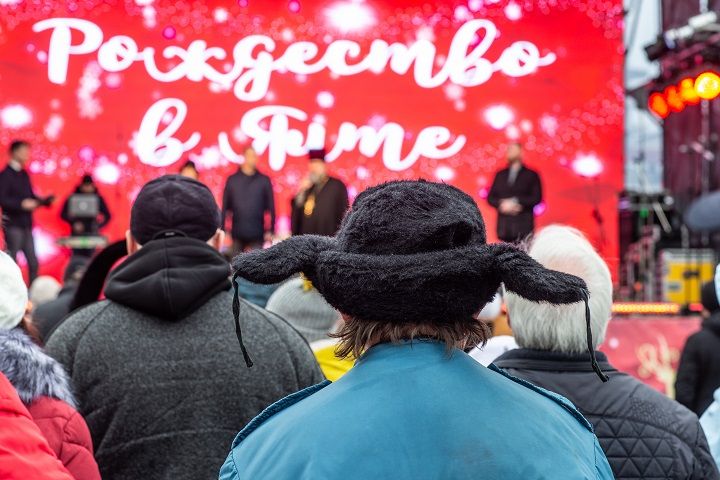 Крым праздничный: Ялта отметила Рождество Христово