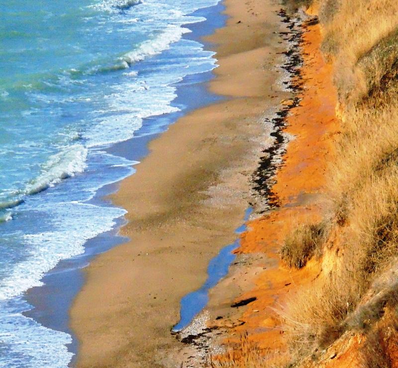 Пляж в районе Немецкой балки