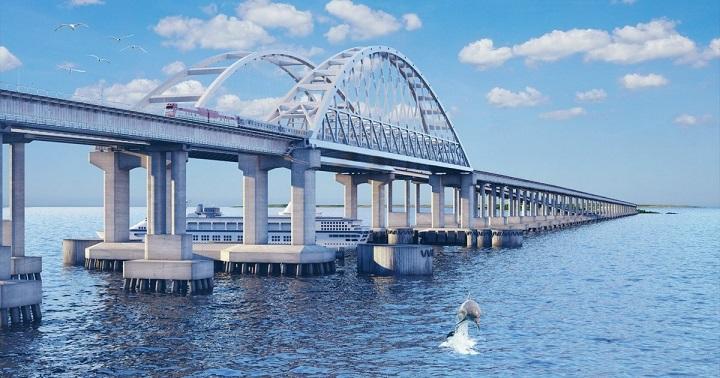 АР Крым ожидал построение моста практически столетие