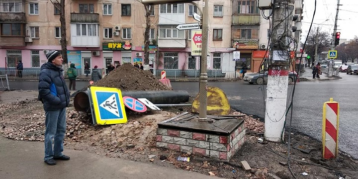 Жители столицы Крыма шокированы капремонтом дорог
