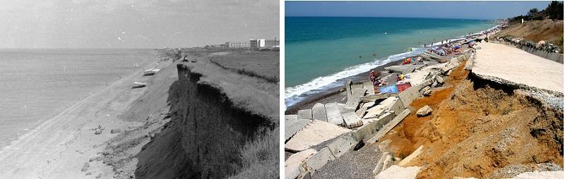 Сравнение состояния пляжей