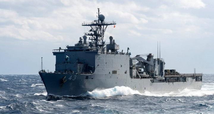Янки отправили десантный корабль в Чёрное море