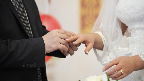 ForPost - В России впервые за три года стали чаще жениться