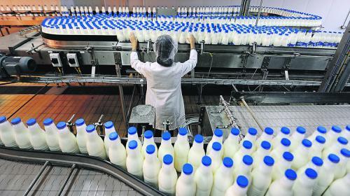 ForPost - Минсельхоз позволил восстановленному молоку синеватый оттенок