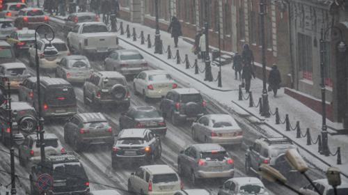 ForPost - Во Владивостоке произошло более 250 ДТП из-за снегопада