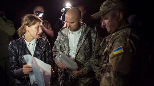 ForPost - ДНР обсудит в Минске гуманитарную ситуацию в Травневом и Гладосово захваченных батальоном «Айдар»