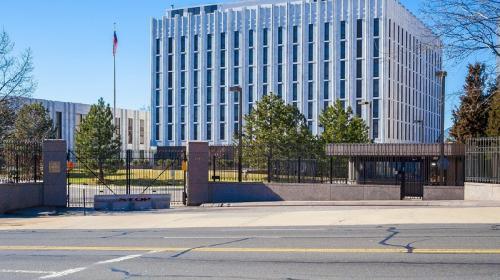 ForPost - Площадь перед посольством РФ в Вашингтоне получила имя Бориса Немцова