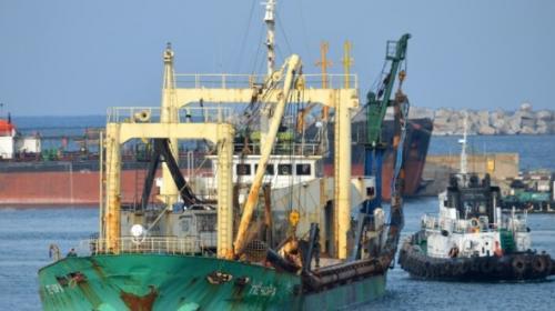 ForPost- «Арестованное» Украиной судно «Печора» стоит в севастопольском порту