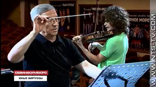 ForPost- Юные музыканты-виртуозы дали концерт в Севастополе