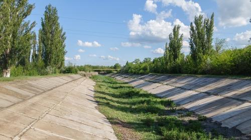 ForPost- Украина навсегда перекрыла подачу воды в Крым