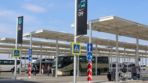 ForPost - Из аэропорта Симферополя начали ходить рейсовые автобусы