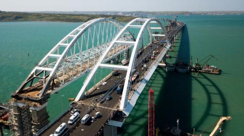 ForPost- Крымский мост бьет рекорды трафика