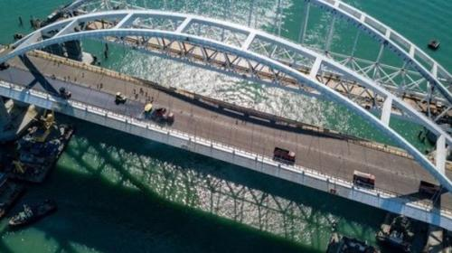 ForPost- На Украине ждут разрушения Крымского моста