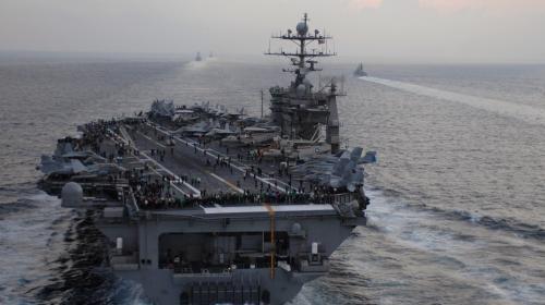 ForPost - Авианосец США впервые за 27 лет приблизился на угрожающее расстояние к России