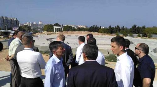 ForPost- Парка Победы в Севастополе не будет ещё долго