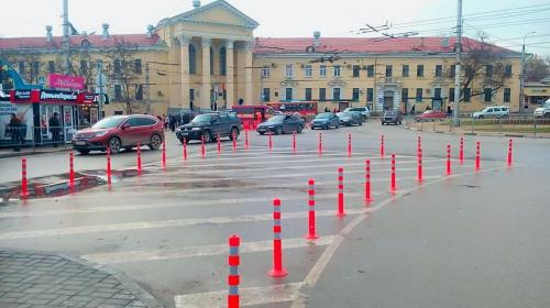 ForPost- На площади Восставших в Севастополе организуют коллапс