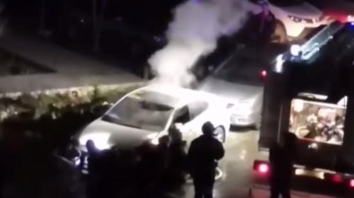 ForPost- В Севастополе неизвестный поджег автомобиль