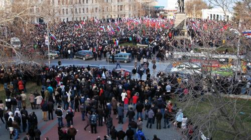 ForPost- Телеканал правительства Севастополя связал Русскую весну с надеждой сохранить Украину