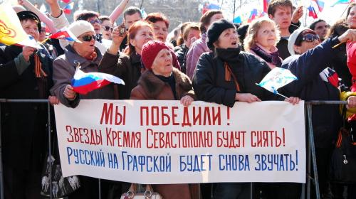 ForPost- «В Севастополе любовь к Родине можно было горстями черпать», — Екатерина Алтабаева