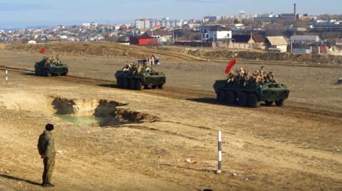 ForPost- Севастопольский парк «Патриот» еще раз вывел войска из Афганистана