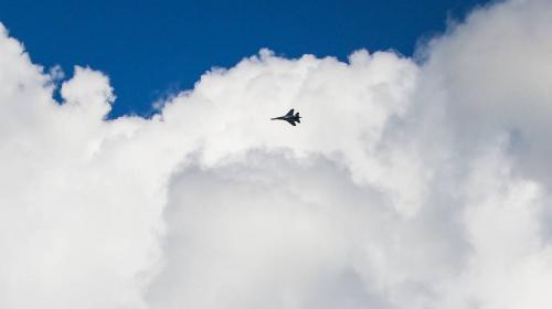 ForPost- Над Чёрным морем пропал с радаров истребитель Су-27