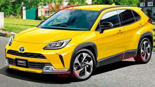 ForPost- Опубликованы характеристики нового кроссовера Toyota