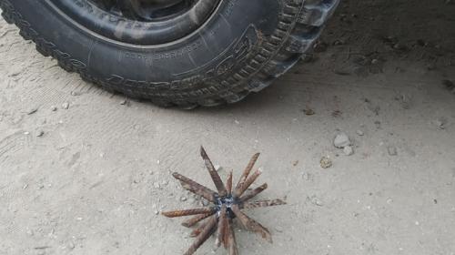 ForPost- Шипы из арматуры снова появились в крымских лесах