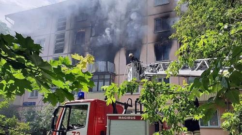 ForPost - В Москве произошёл взрыв в жилом доме