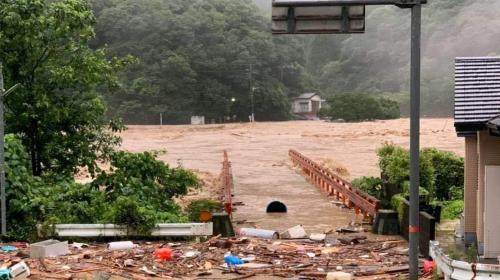 ForPost - В Японии из-за наводнений погибли 62 человека