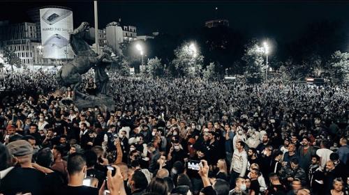 ForPost - В Белграде вводят меры реагирования на беспорядки