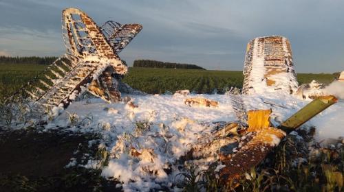 ForPost - В Нижегородской области разбился самолёт, есть жертвы