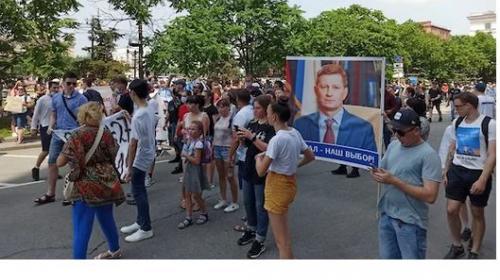 ForPost - Десятки тысяч человек вышли на акцию в поддержку Фургала в Хабаровске