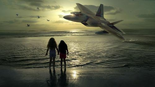 ForPost - В Крыму самолет пролетел над макушками пляжников