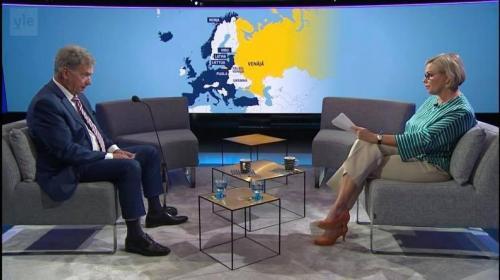 ForPost - Украина выразила протест из-за карты с российским Крымом на финском ТВ
