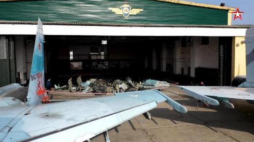 ForPost- Су-27 потерпел крушение у берегов Крыма из-за взрыва двигателя ракеты