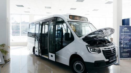 ForPost- Первые в Севастополе и Крыму новые пассажирские автобусы малого класса «ГАЗель CITY» для маломобильных пассажиров