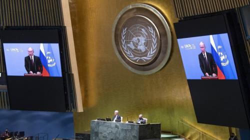 ForPost- Почему Путин не стал стучать ботинком в ООН?